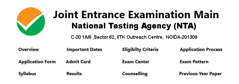 jee exam Admission provider